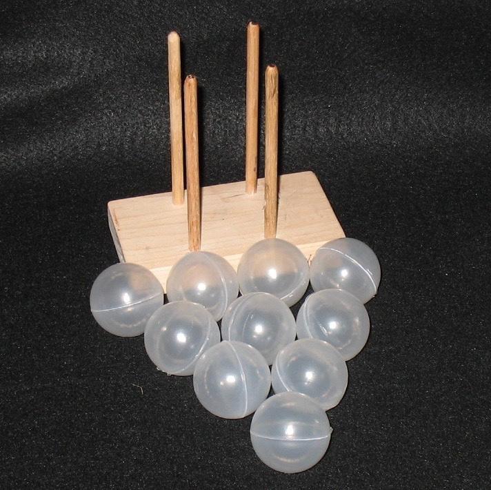 "Monkey Fist 1-1/2"" Value Pack w Jig & 10 Steel Balls"