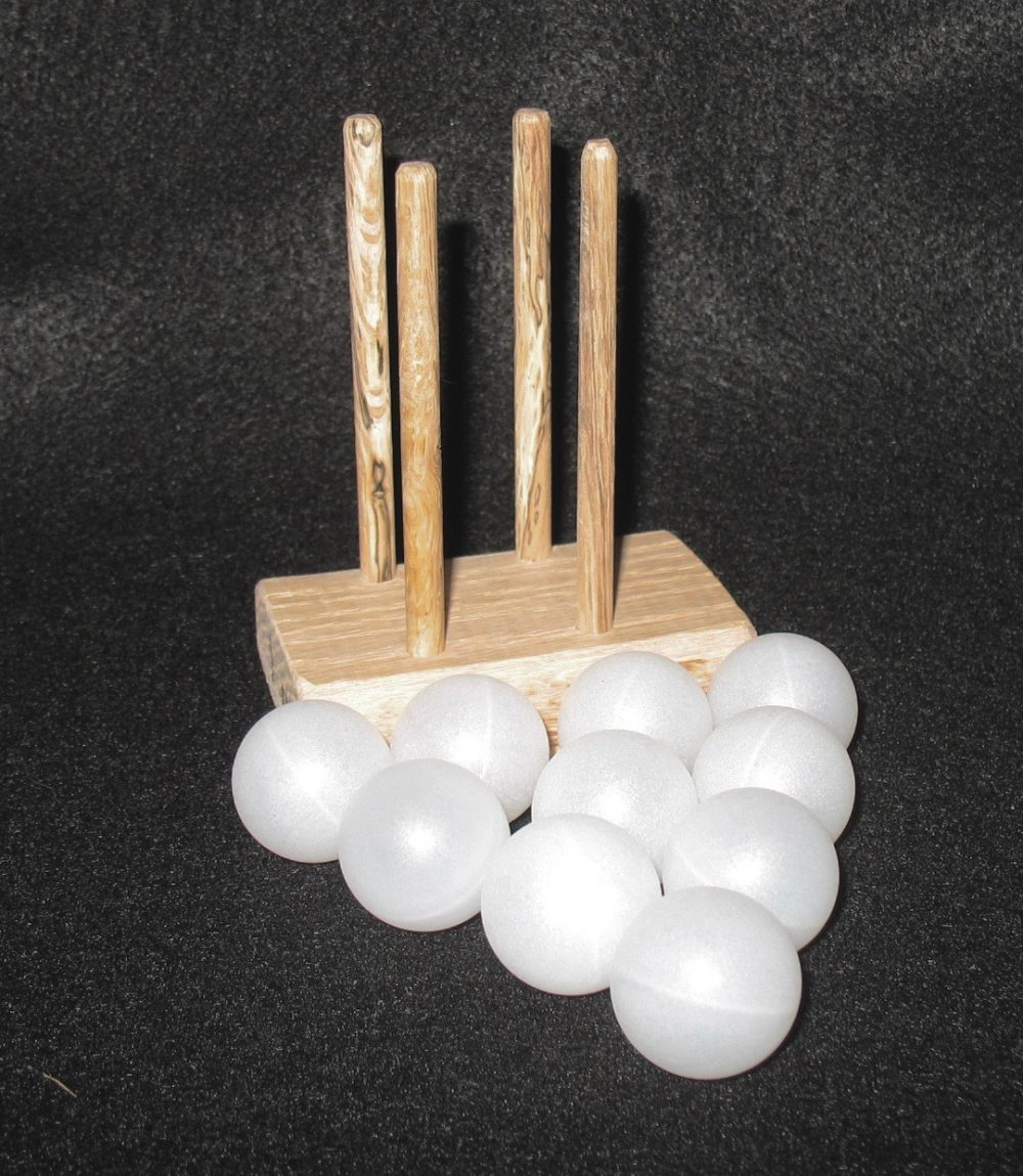 Monkey Fist 1 inch Value Pack w Jig & 10 Plastic Balls