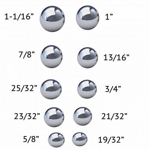 Coin Ring Making Balls Set of 10