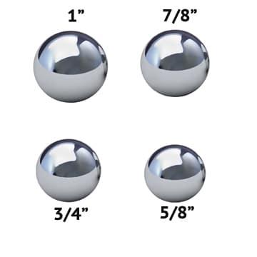 Coin Ring Making Balls Set of 4