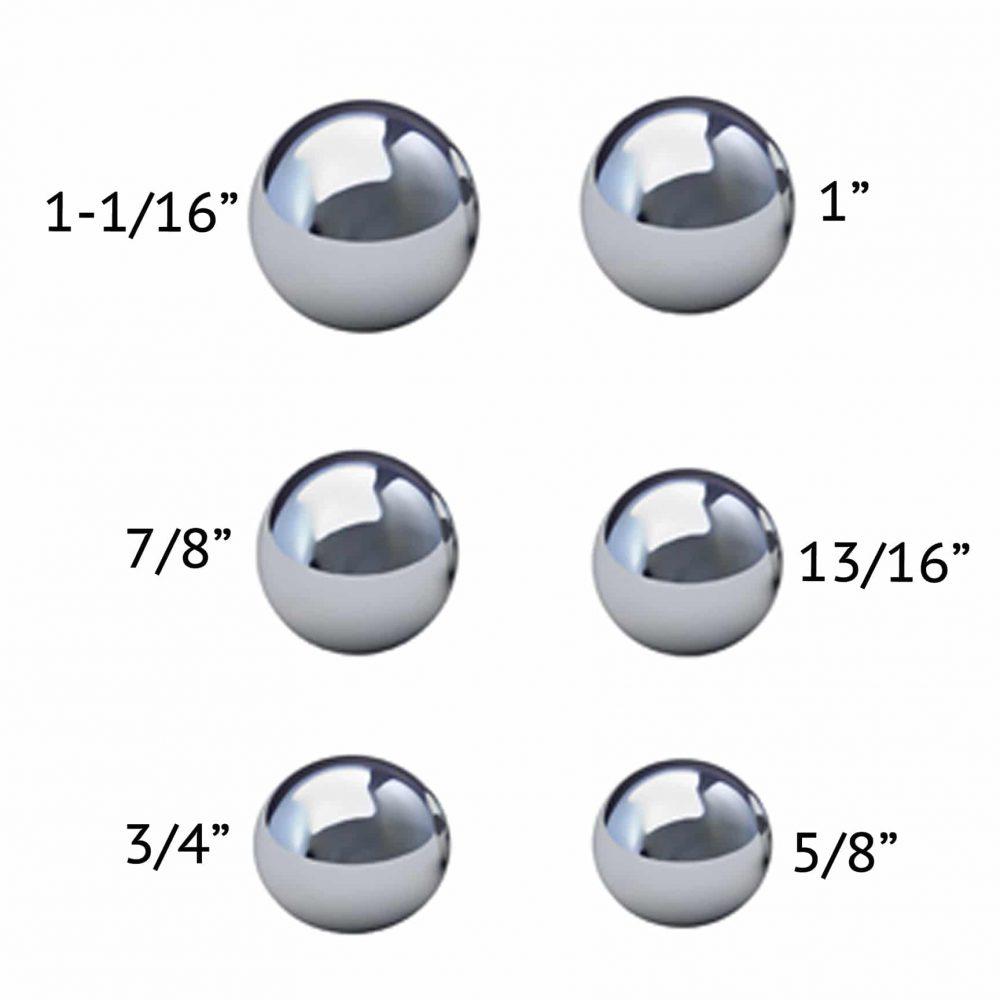 Coin Ring Making Balls Set of 6